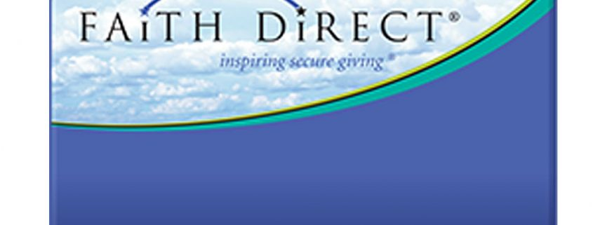 Faith Direct online giving