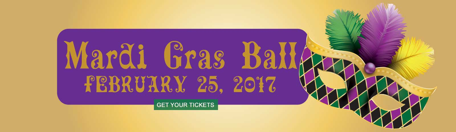 Get your tickets for the Mardi Gras Ball - St. Katharine Drexel Mission