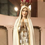 Pilgrim Virgin Statue