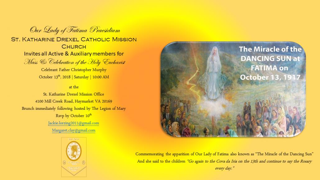 Our Lady of Fatima Presidium