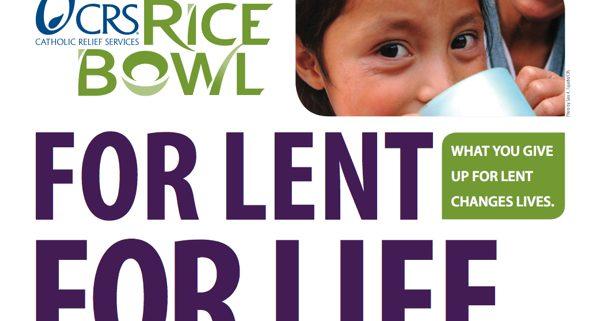 CSR Rice Bowl for Lent