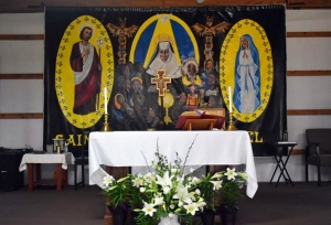 SKD Altar at Four Hills Farm