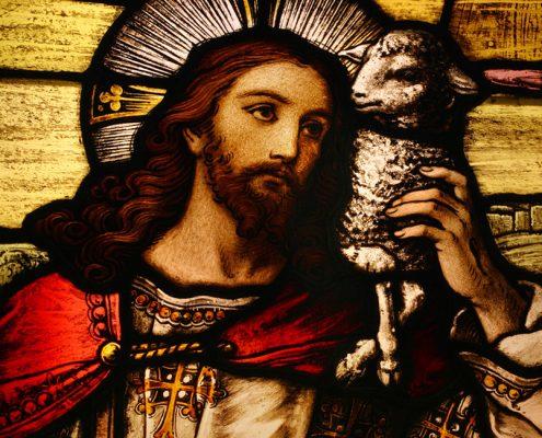 Jesus is the Lamb of God.