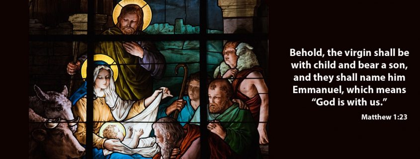 Nativity - Matthew 1:23 - St. Katharine Drexel Mission